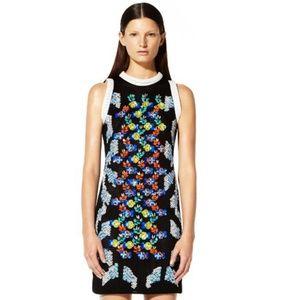 Peter Pilotto 3D Embellished Mesh Dress